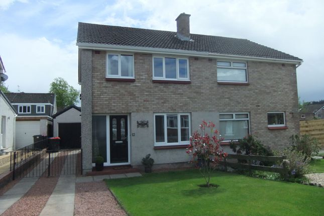 3 bed semi-detached house for sale in 6 Airds Court, Georgetown, Dumfries DG1