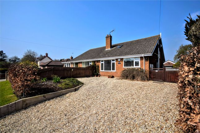 Thumbnail 4 bed bungalow for sale in Mill Lane, Legbourne, Louth