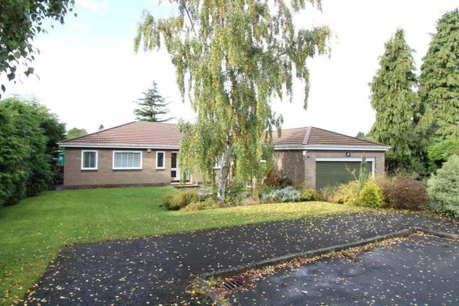 Thumbnail Detached bungalow to rent in Crossfell, Darras Hall, Newcastle Upon Tyne, Northumberland