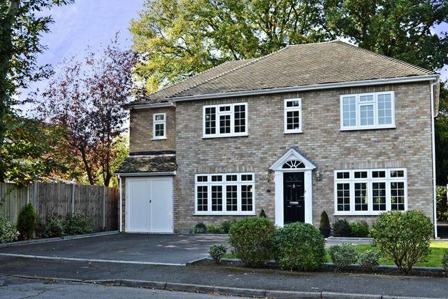 Thumbnail Detached house for sale in Denman Close, Fleet
