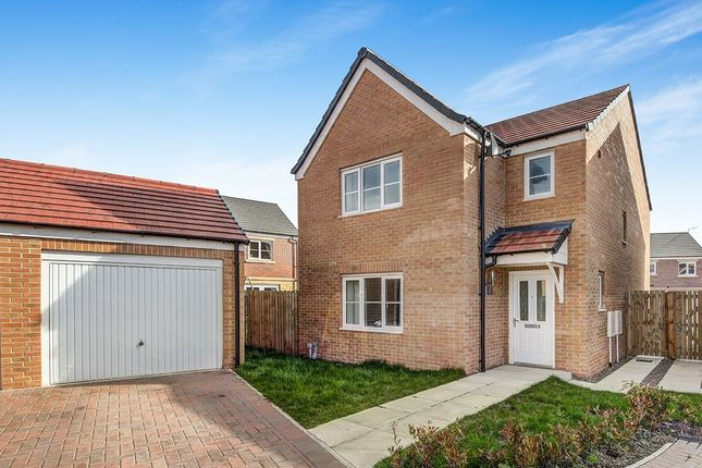 Thumbnail Detached house for sale in Cornwall Way, Blyth