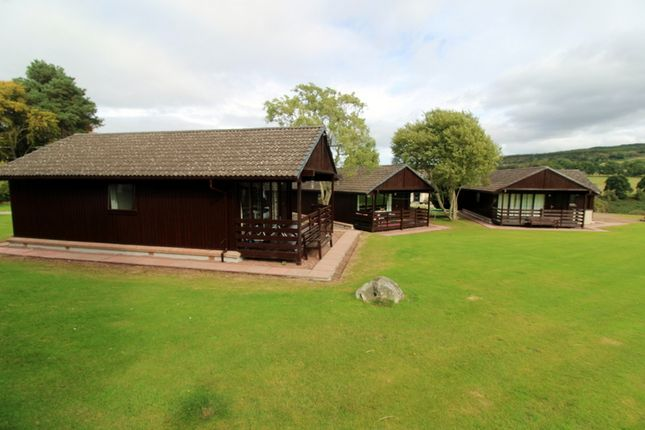 Thumbnail Leisure/hospitality for sale in Self-Catering Business, Glenview Lodges, Ardendrain, Kiltarlity, Inverness-Shire