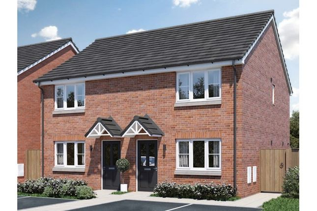 2 bedroom semi-detached house for sale in 14, Hedgehog Close, Melton Mowbray, Leicestershire