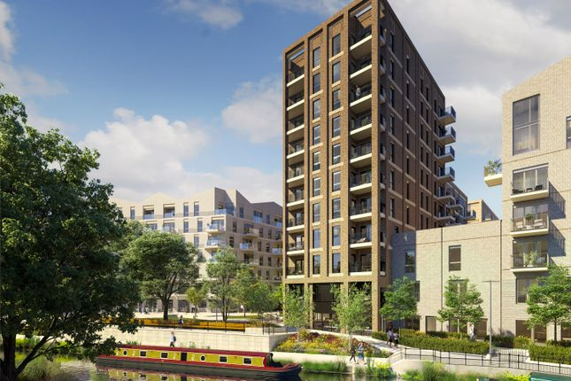 Thumbnail Flat for sale in Huntley Wharf, Reading