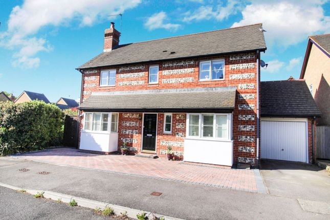 Thumbnail Detached house for sale in Beauchamp Drive, Salisbury