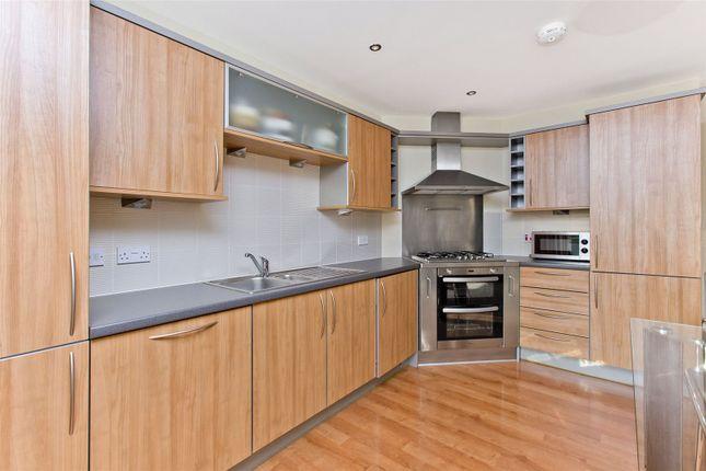 Kitchen of Portland Gardens, The Shore, Edinburgh EH6
