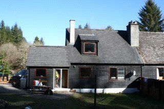 Thumbnail 2 bed semi-detached house for sale in Achany, Lairg, Highland