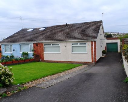 Thumbnail Bungalow for sale in Dobbins Road, Barry