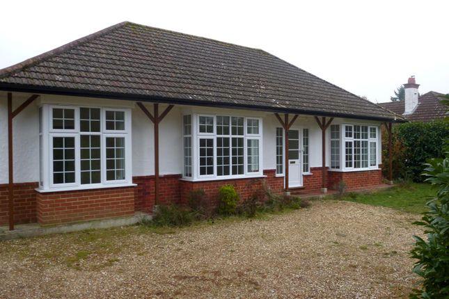 Thumbnail Bungalow to rent in Braeside Road, West Moors, Ferndown