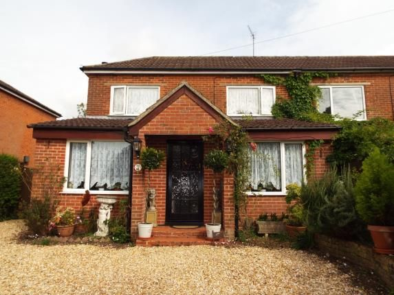 Thumbnail Semi-detached house for sale in Colden Common, Winchester, Hampshire