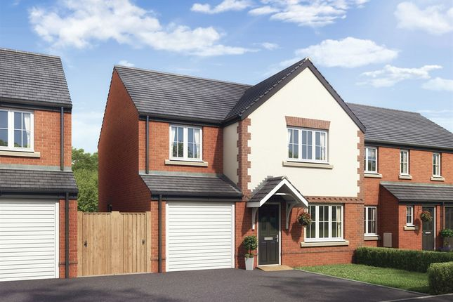 "Thumbnail Detached house for sale in ""The Roseberry"" at Boughton Green Road, Northampton"