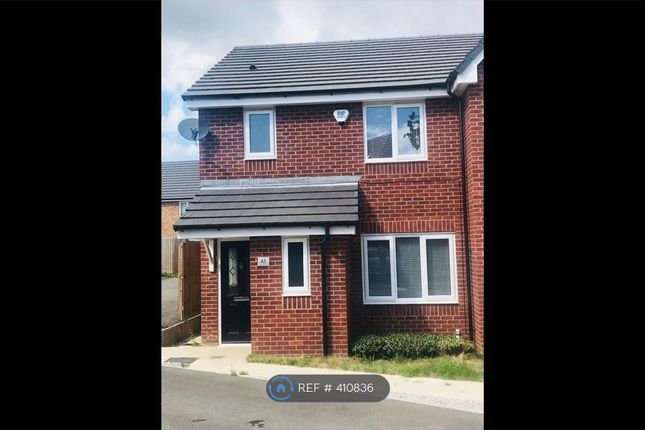 Thumbnail Semi-detached house to rent in Broomhall Drive, Crewe