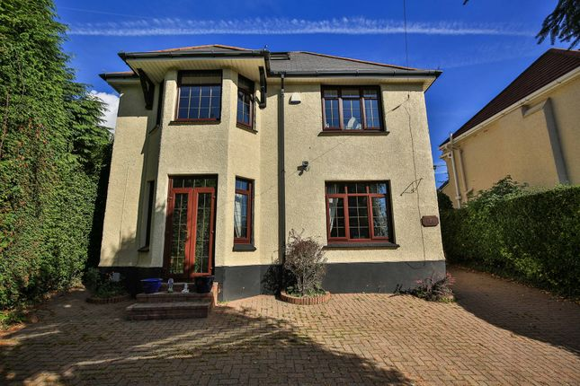 Thumbnail Detached house for sale in Cefn Road, Rogerstone, Newport