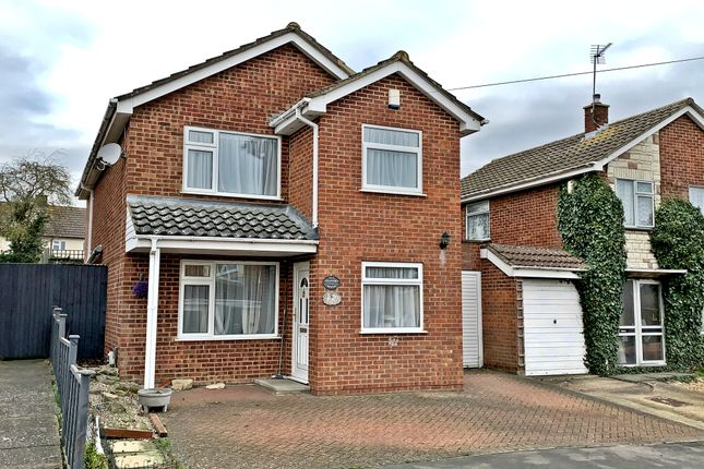 Thumbnail Detached house for sale in Roman Way, Irchester, Northamptonshire