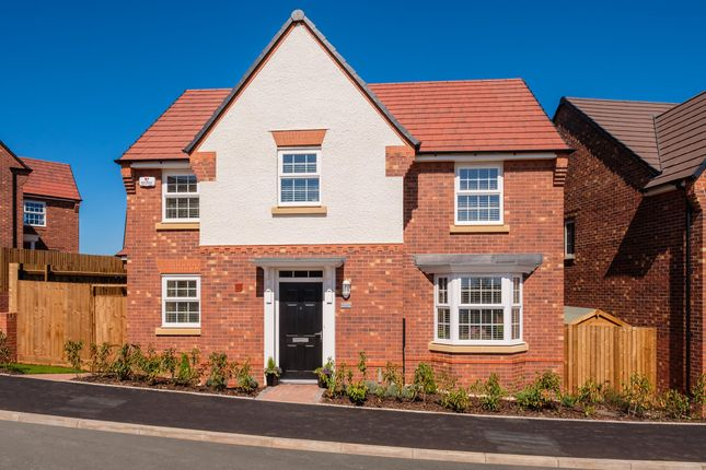 "Thumbnail Detached house for sale in ""Mitchell"" at Birmingham Road, Bromsgrove"