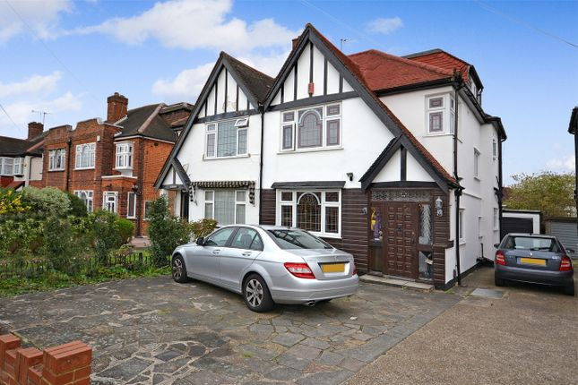 4 bed semi-detached house for sale in Audrey Gardens, Wembley, Middlesex