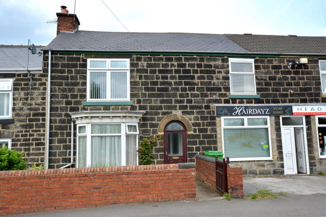 Thumbnail Terraced house for sale in North Wingfield Road, Grassmoor, Chesterfield