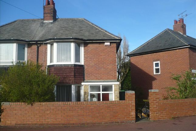 Thumbnail Semi-detached house for sale in Carrfield Road, Kenton, Newcastle Upon Tyne