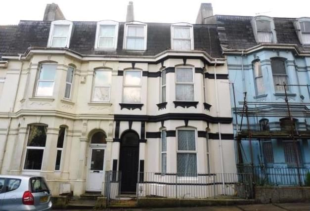 Thumbnail Maisonette to rent in Mount Gould Road, Plymouth