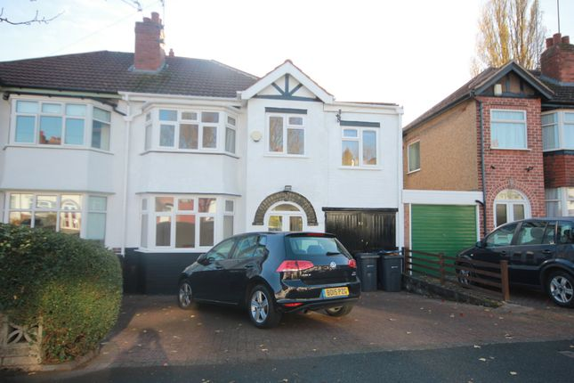 Thumbnail Semi-detached house to rent in Weymoor Road, Harborne