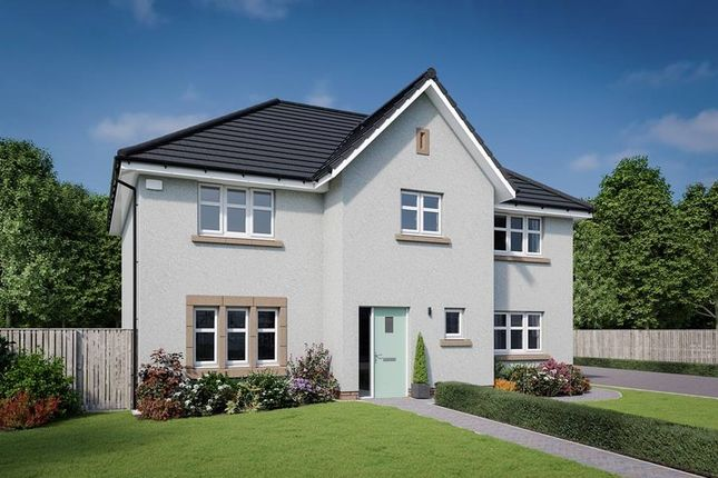 "Thumbnail Detached house for sale in ""The Elliot"" at Dalmahoy Crescent, Balerno"