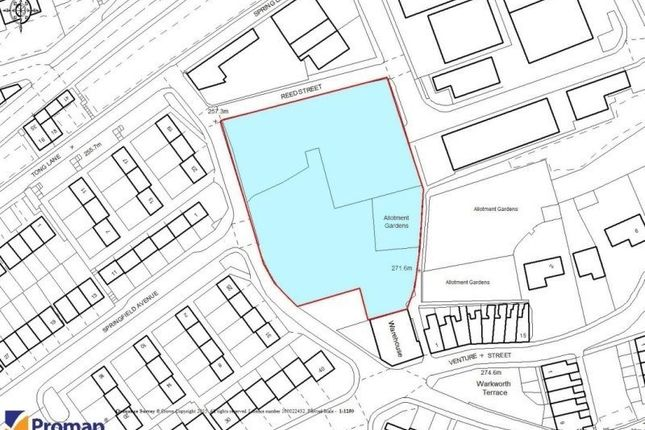 Thumbnail Land for sale in Reed Street, Bacup