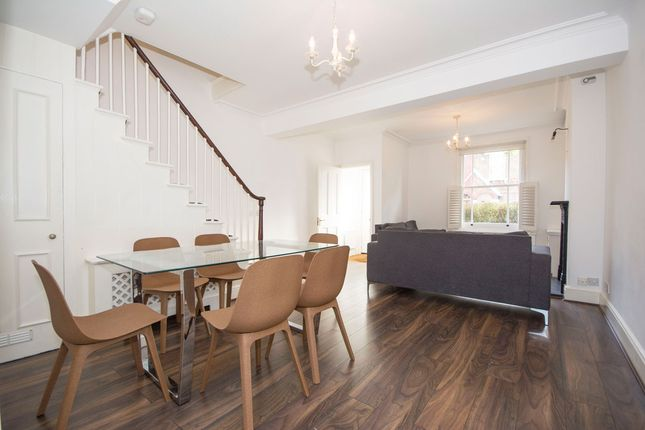 3 bed terraced house to rent in Morrison Street, Battersea
