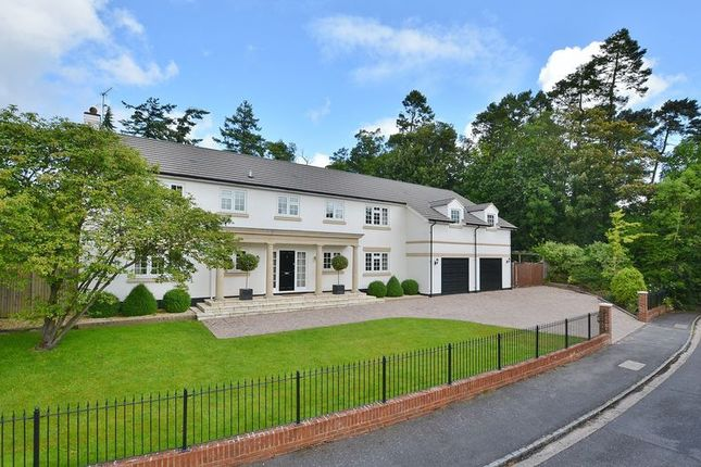 Thumbnail Detached house for sale in Whichert Close, Knotty Green, Beaconsfield