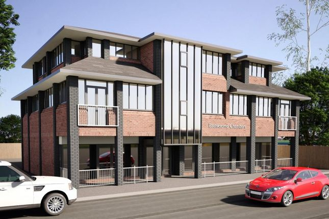 Thumbnail Flat for sale in Branksomewood Road, Fleet