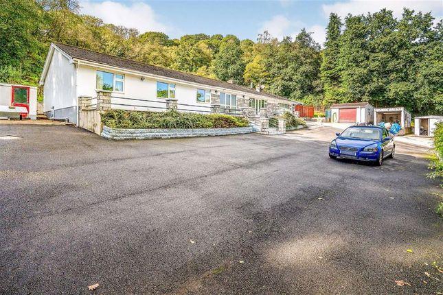 Thumbnail Detached bungalow for sale in Upper Cwmtwrch, Swansea