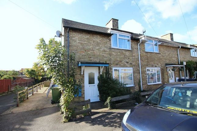 End terrace house for sale in Avenue Road, Huntingdon, Cambridgeshire.