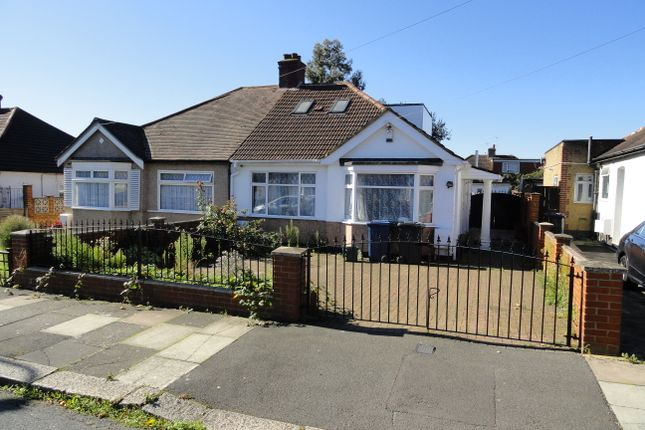 Thumbnail Semi-detached bungalow for sale in Manor Avenue, Northolt