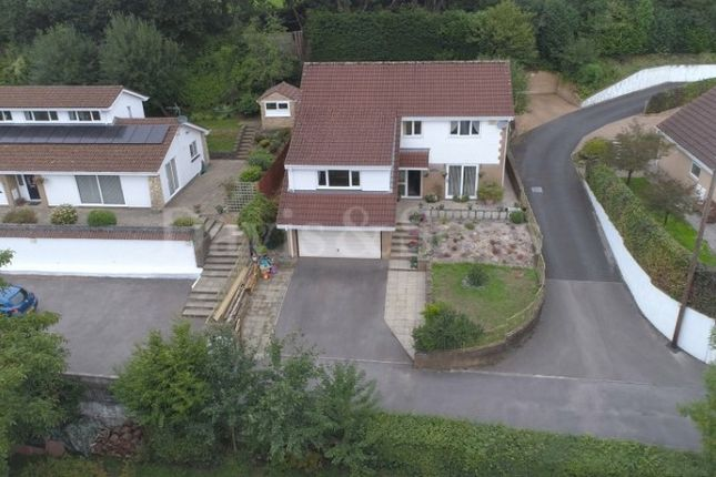 Thumbnail Detached house for sale in Blackthorn Court, Dranllwyn Close, Machen, Caerphilly.