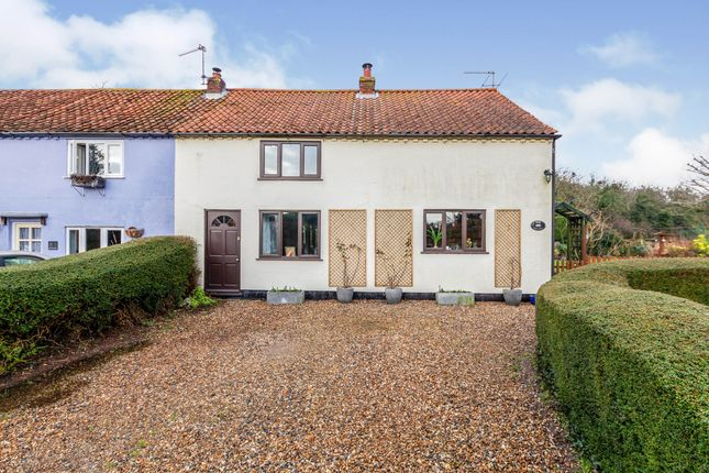 Thumbnail End terrace house for sale in Aldeby, Beccles, Norfolk