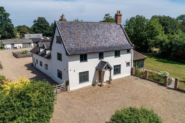 Thumbnail Detached house for sale in Hoxne Road, Weybread, Diss, Norfolk