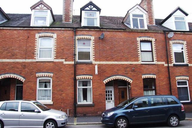 Thumbnail Terraced house for sale in Parker Street, Leek, Leek