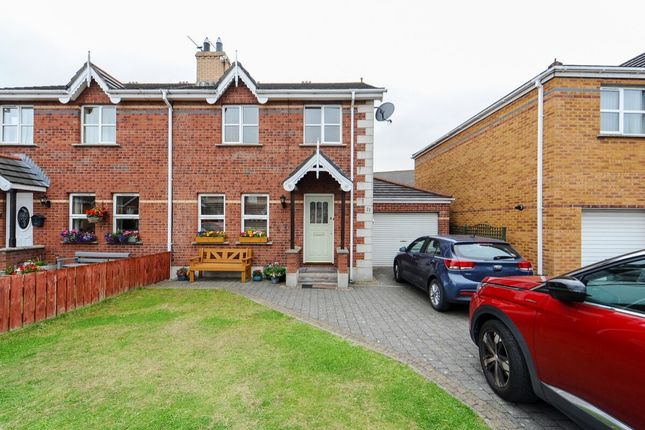 Thumbnail Semi-detached house for sale in Whitethorn Drive, Newtownards