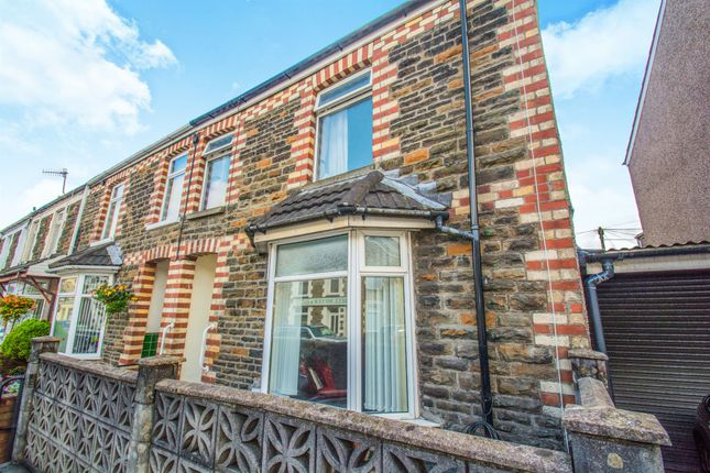 4 bed end terrace house for sale in Laurel Court, Church Street, Bedwas, Caerphilly