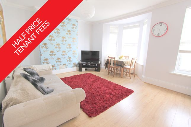 Thumbnail Flat to rent in Fellowes Place, Stoke, Plymouth