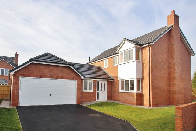 Thumbnail Detached house for sale in Alder Close, Alltami Road, Mold