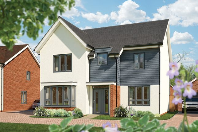 "Thumbnail Detached house for sale in ""The Birch"" at Fields Road, Wootton, Bedford"