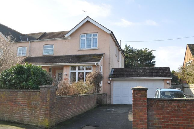 Thumbnail Semi-detached house for sale in Church Road, Polegate