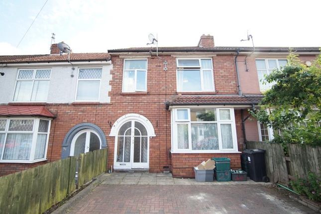 Thumbnail Terraced house to rent in Sixth Avenue, Horfield, Bristol
