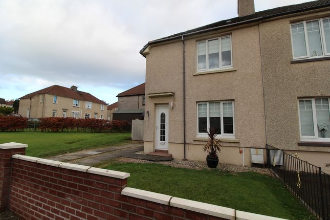 Thumbnail Semi-detached house for sale in Faskine Avenue, Airdrie, North Lanarkshire