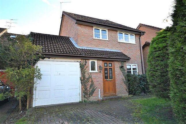 Thumbnail Detached house for sale in Kimber Close, Chineham, Basingstoke