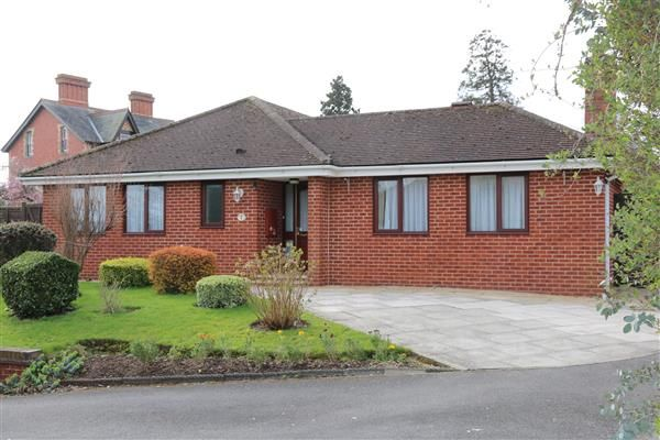 Thumbnail Detached bungalow for sale in Walford Road, Ross-On-Wye