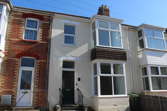 Thumbnail Terraced house to rent in Emmadale Road, Weymouth