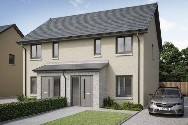 2 bedroom semi-detached house for sale in Peregrine Drive, Inverurie