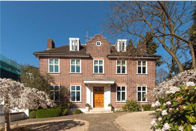 Thumbnail Detached house for sale in Hampstead Lane, Hampstead, London