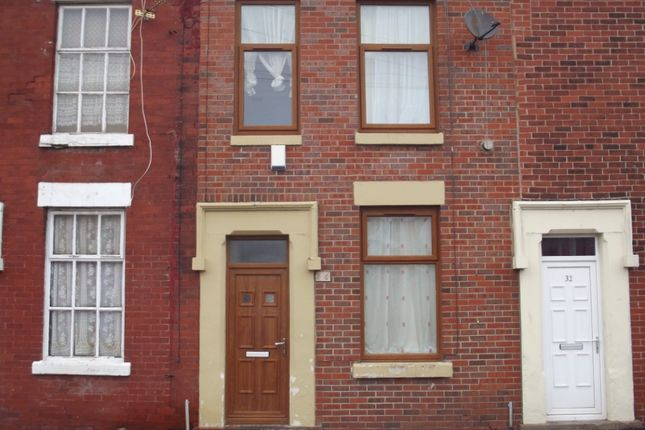Thumbnail Terraced house to rent in Crown Street, Preston